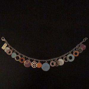 Coach enamel medallions charm bracelet